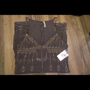 Free People. NWT Tunic Tank Top